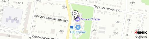 Мини-отель на карте Благовещенска