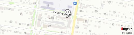Боцман на карте Благовещенска