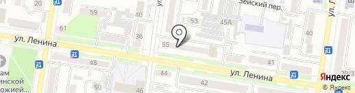 Ломбард Скупка Плюс на карте Благовещенска