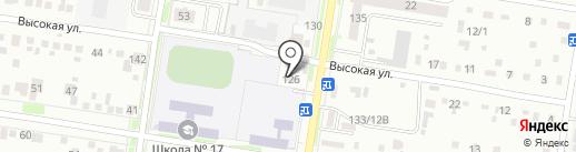 Check point на карте Благовещенска