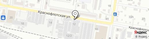 Akcept на карте Благовещенска