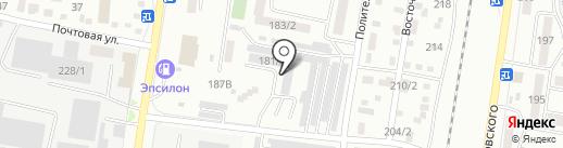 ВестКом на карте Благовещенска