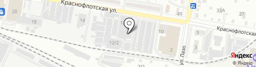 Амурский хлеб на карте Благовещенска