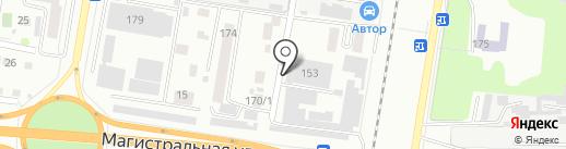 Прима на карте Благовещенска