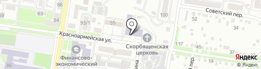 Амурский педагогический колледж на карте Благовещенска