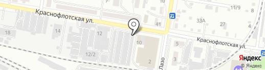 Секвойя на карте Благовещенска