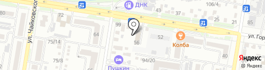 ЭКОМИР на карте Благовещенска