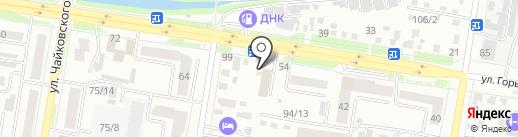 EDEM HOUSE на карте Благовещенска