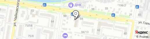 КлюкVа бар на карте Благовещенска