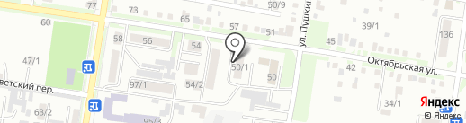 Студент на карте Благовещенска