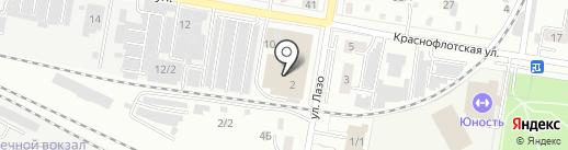 Адвокатский кабинет Пашкова Ю.Н. на карте Благовещенска