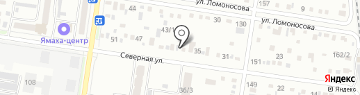 Автоцентр 39 на карте Благовещенска