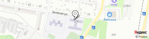 Средняя общеобразовательная школа №15 на карте Благовещенска