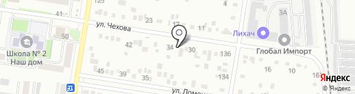 Сантехмонтаж на карте Благовещенска