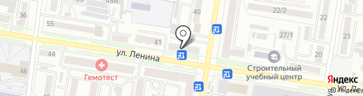 Амурснабсбыт на карте Благовещенска