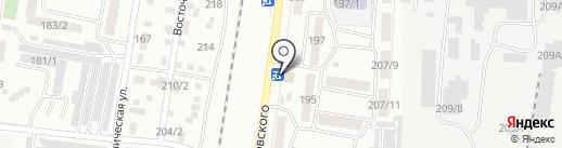 LAZIO на карте Благовещенска