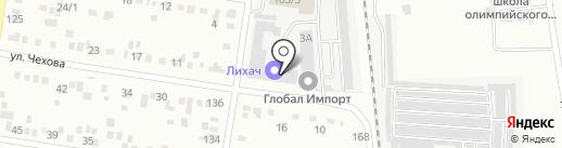 Кам-Тракт на карте Благовещенска