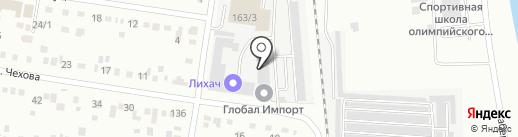 ТЭС-ДВ на карте Благовещенска