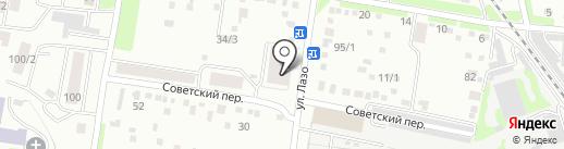 Лотос на карте Благовещенска