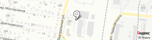 Дальневосточная автотранспортная компания на карте Благовещенска