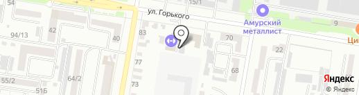 Автоювелир на карте Благовещенска