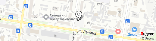 Автомойка на Партизанской на карте Благовещенска