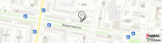 Техноавиа-Хабаровск на карте Благовещенска