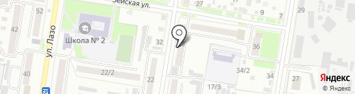 Городская управляющая компания на карте Благовещенска