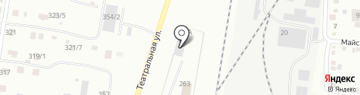 Фитинг на карте Благовещенска