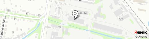 Альфапласт на карте Благовещенска
