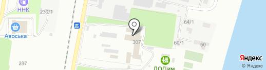 Дом-интернат для престарелых и инвалидов г. Благовещенска на карте Благовещенска