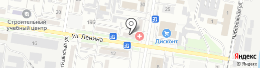 Виола на карте Благовещенска