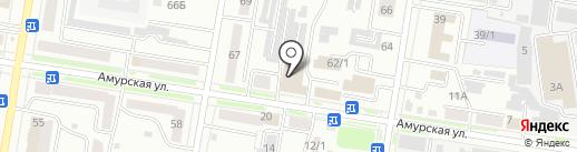 Сельснаб на карте Благовещенска
