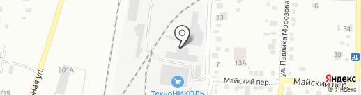Унимакс на карте Благовещенска