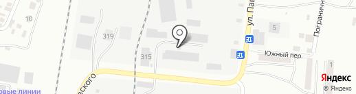 Компания по производству металлических дверей и гаражных ворот на карте Благовещенска
