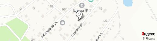 Зеленый на карте Садового
