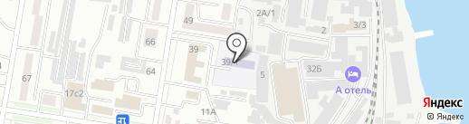 Детский сад №3 на карте Благовещенска