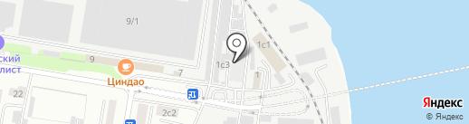Авторемонтная мастерская на ул. Горького на карте Благовещенска