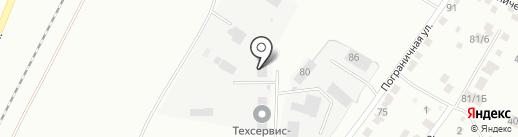 АТК-Механизация на карте Благовещенска