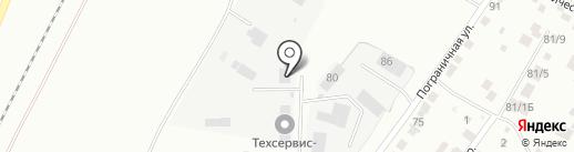 Компания по аренде помещений на карте Благовещенска