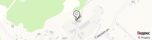 Ключ на карте Садового