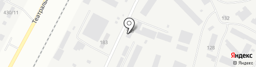 Автотранспортник на карте Благовещенска