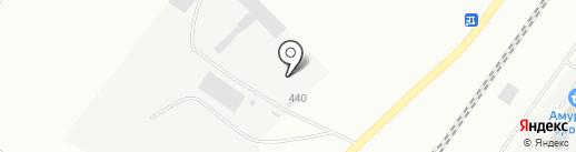 Амур Бетон на карте Благовещенска