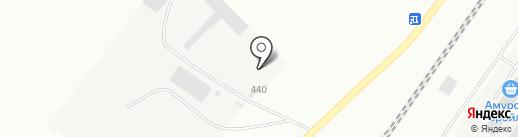 Сталь ДВ на карте Благовещенска