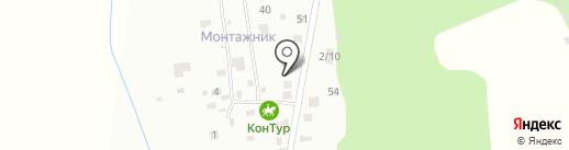 КонТур на карте Моховой-Пади