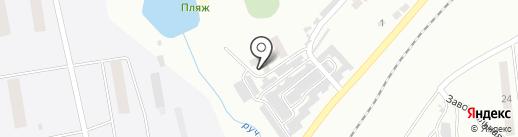 Банно-прачечные услуги, МП на карте Моховой-Пади