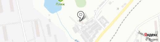 Баня на Моховой на карте Моховой-Пади