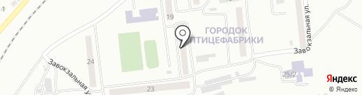 Багульник на карте Моховой-Пади