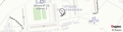 Восток-13 на карте Моховой-Пади