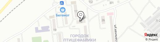 Продовольственный магазин на карте Моховой-Пади